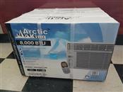 ARCTIC KING Air Conditioner 8000 BTU Window Unit AC EWK-08CRN1-BK3